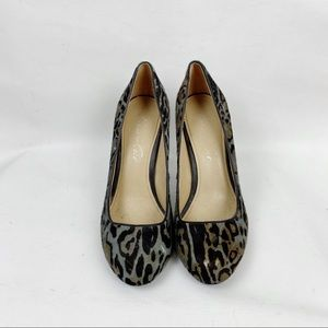 Kenneth Cole Shoes - Kenneth Cole Animal Print Heels Size 8.5
